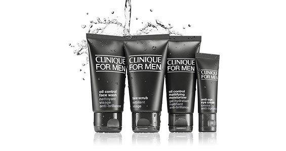 clinique men skin