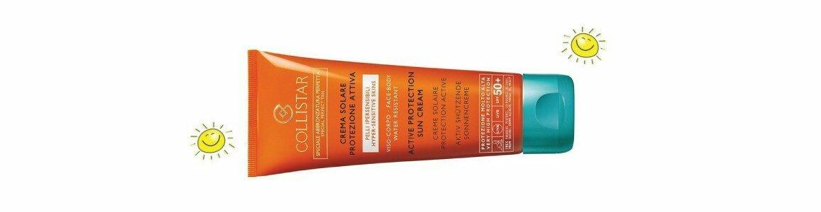 collistar creme protecao spf50 hiper sensivel rosto corpo