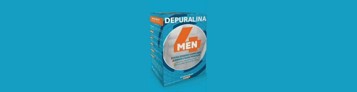 depuralina 4 men queima gordura massa muscular