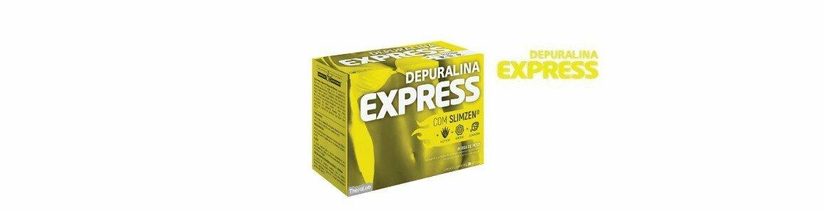 depuralina express perda peso slimzen 60 capsulas en
