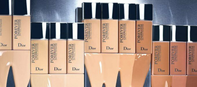 dior diorskin forever undercover foundation base maquilhagem