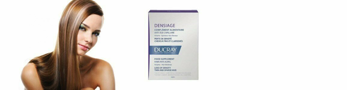 ducray food supplement thin hair lack volume