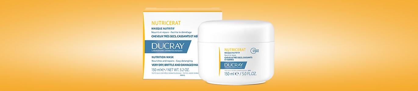 ducray nutricerat mascara ultranutritiva cabelo seco 150 ml