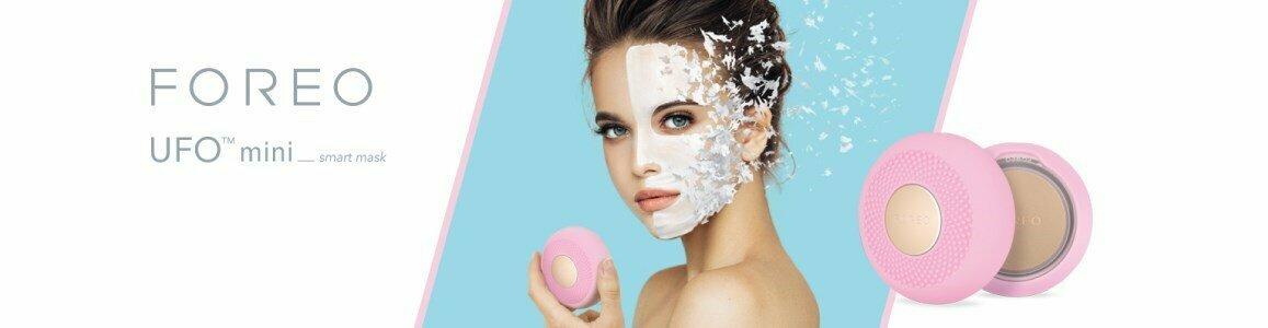foreo ufo mini smart facial mask treatment device