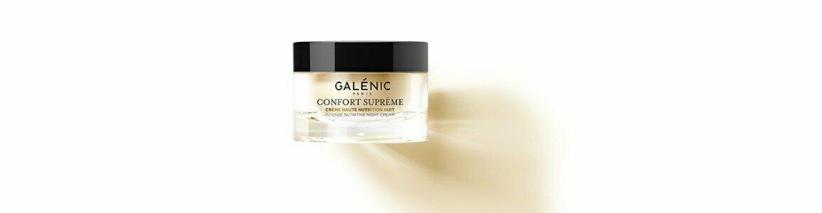 galenic confort supreme creme elevada nutricao noite seca