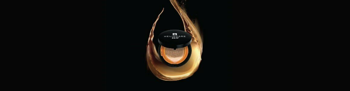 heliocare color base cushion compacta cor beje spf 50 15g
