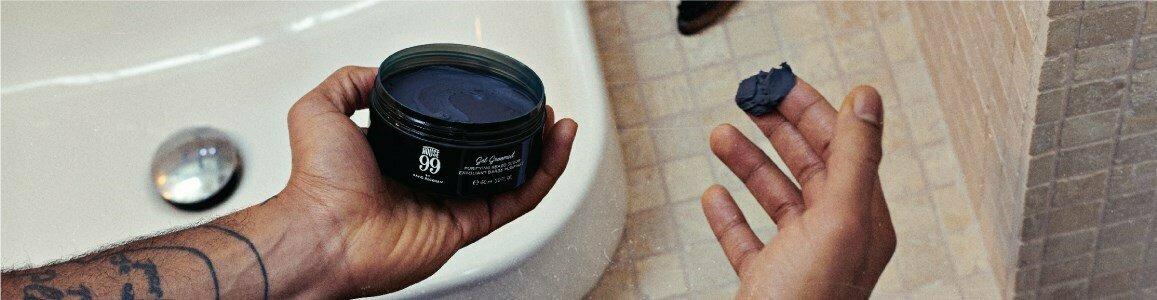 house 99 get groomed purifying beard scrub en