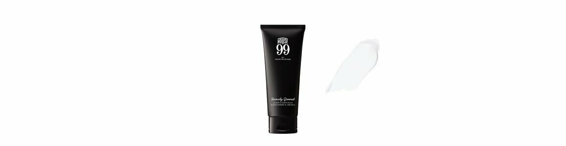 house 99 seriously groomed beard hair balm
