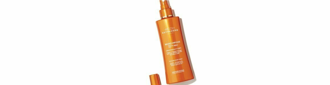 institut esthederm solaire spray impulsionador prolongador do bronzeado