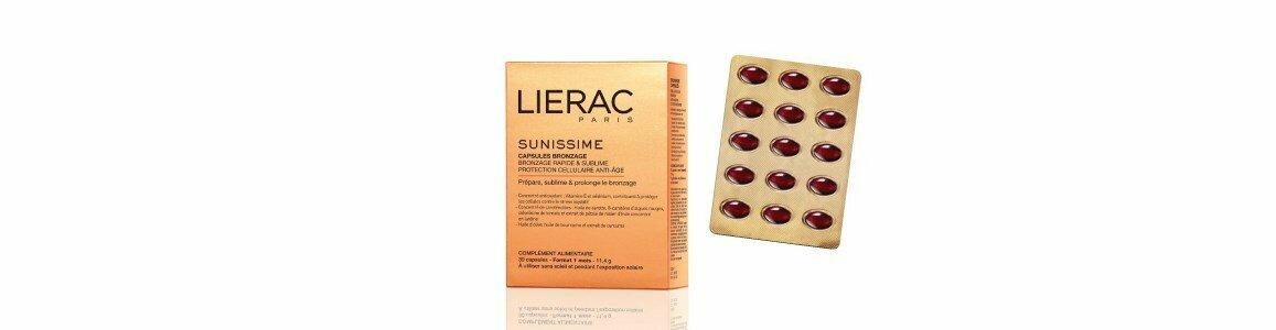lierac sunisssime solaire capsulas bronzeadoras 30