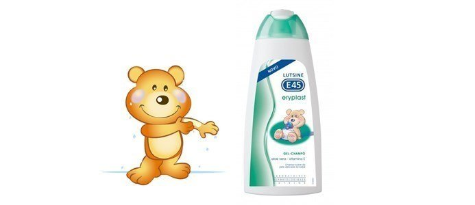 lutsine eryplast gel champo bebe corpo cabelo
