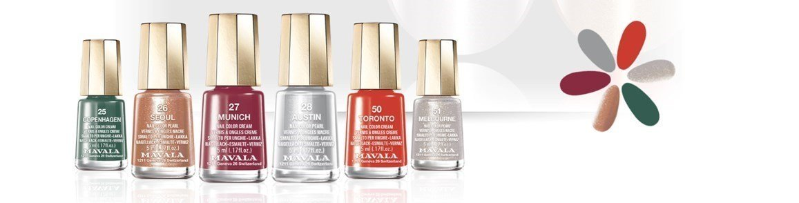 mavala new look colors