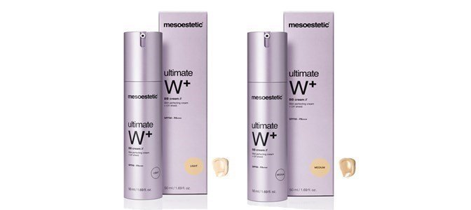 mesoestetic ultimate w bb cream spf50
