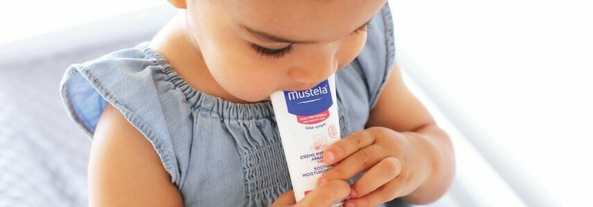 mustela creme hidratante calmante rosto pele muito sensivel 40ml