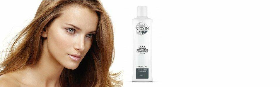 nioxin sistema 2 condicionador couro cabeludo fragilizado