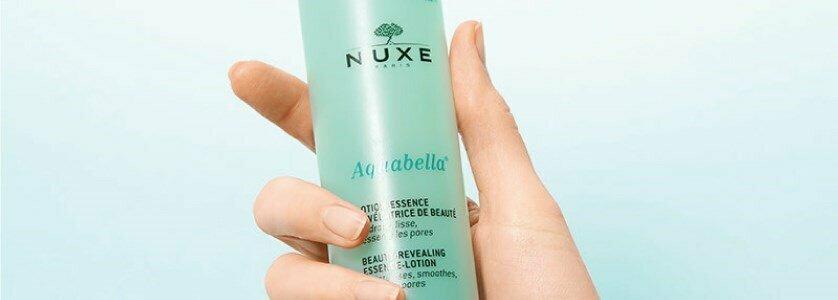 nuxe aquabella essencia locao reveladora beleza poros en
