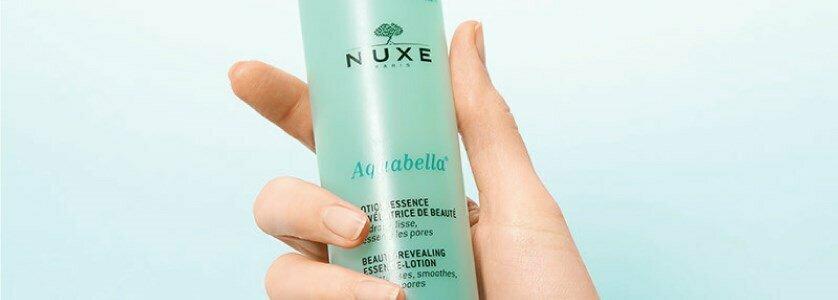 nuxe aquabella essencia locao reveladora beleza poros