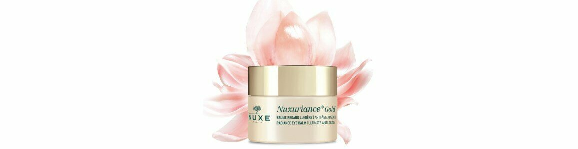 nuxe baume regard lumiere nuxuriance gold