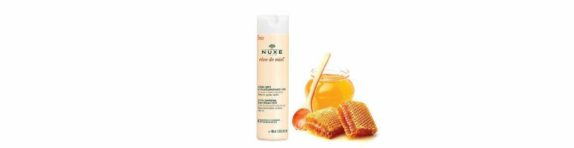 nuxe creme corps ultra reconfortante reve miel