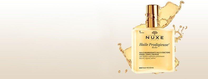 nuxe huile prodigieuse rico oleo nutritivo iluminador