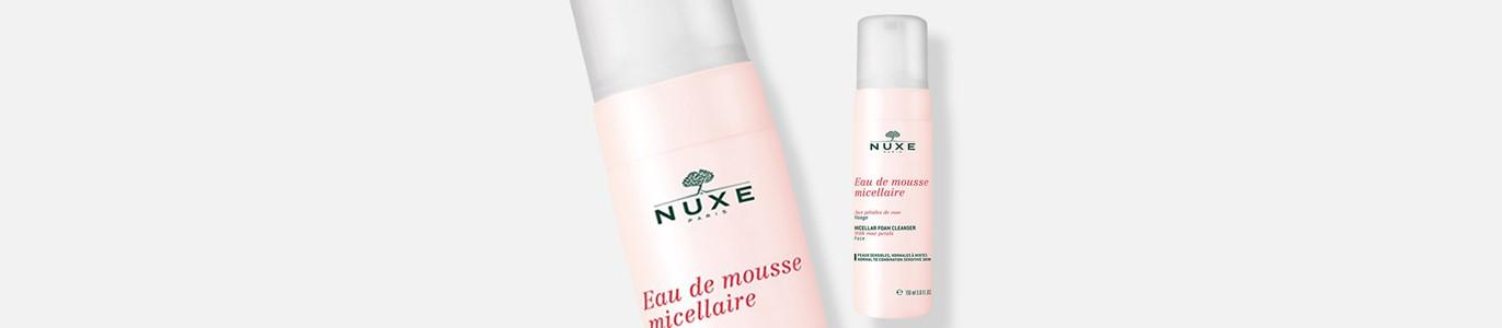nuxe petals rose mousse