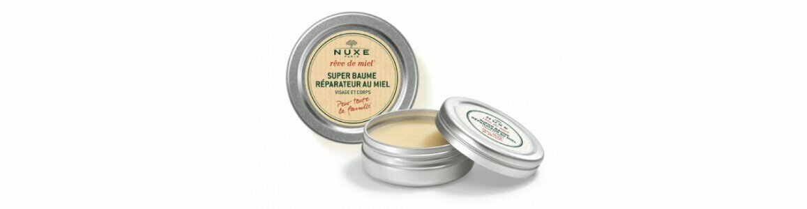 nuxe reve miel supel repairing lip balm face body