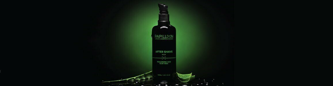 papillon balsamo after shave acido hialuronico aloe vera en