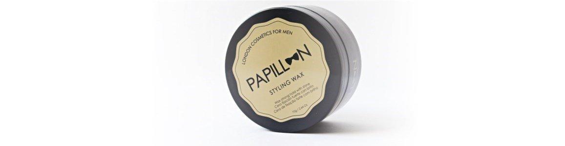papillon styling wax cera fixacao forte brilho ligeiro 75ml