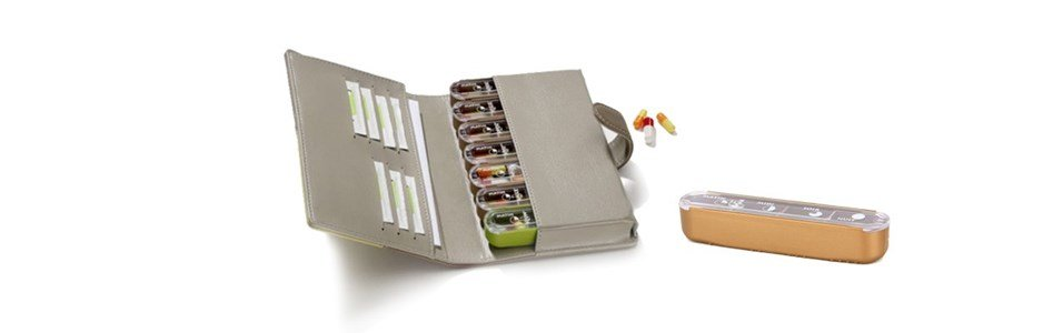 pilbox mini caixa medicacao semanal