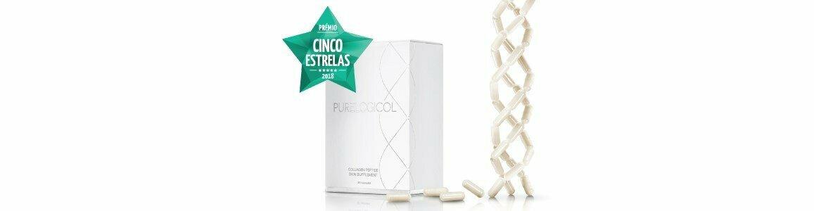 purelogicol collagen peptide skin supplement