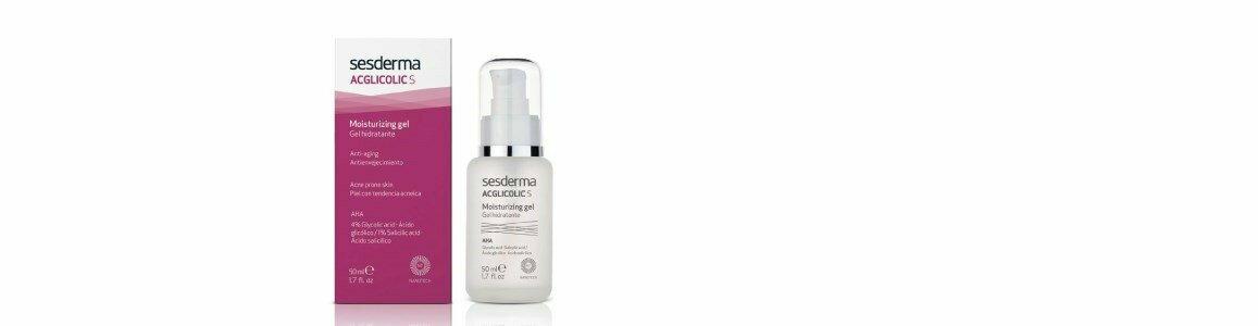sesderma acglicolic s gel hidratante antienvelhecimento pele oleosa en