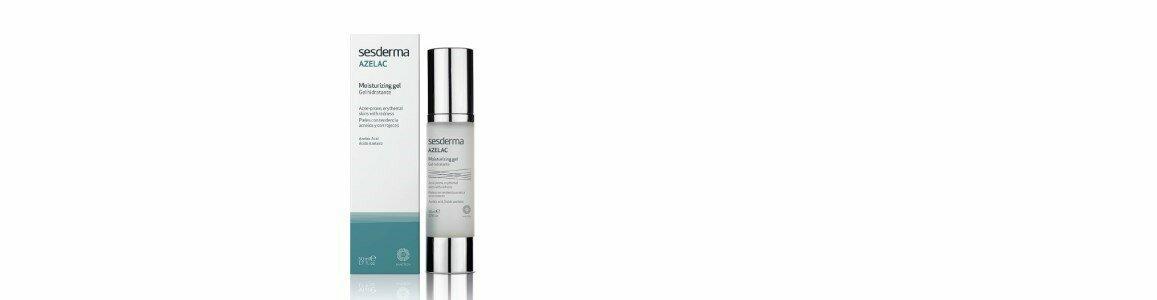 sesderma azelac gel facial hidratante pele acne vermelhidao en