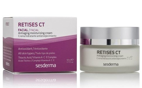 sesderma retises ct creme hidratante antioxidante antienvelhecimento