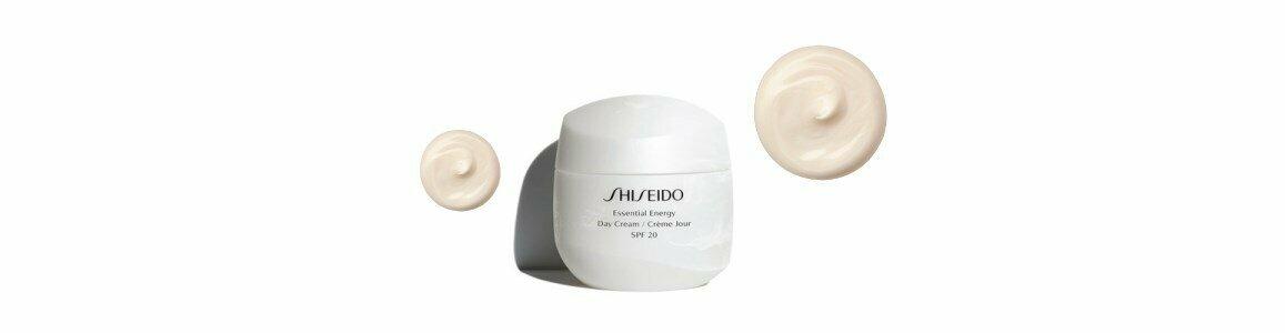 shiseido essential energy creme dia spf20 primeiras rugas