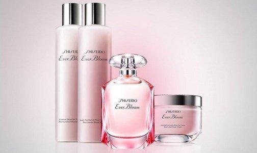 shiseido ever bloom linha