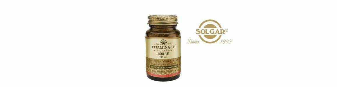 solgar vitamina d3 600ui suplemento alimentar