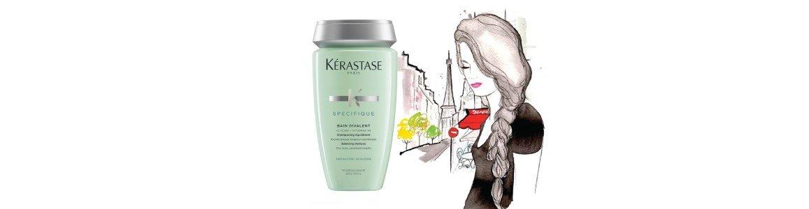 specifique bain shampoo divalent raizes oleosas