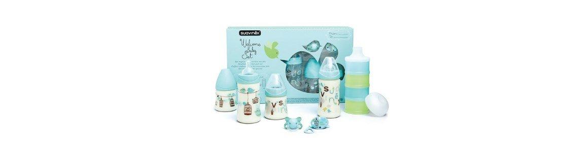 suavinex welcome baby set conjunto bebe azul