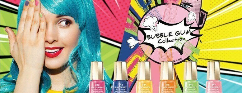 verniz bubble gum collection estilo neon mavala