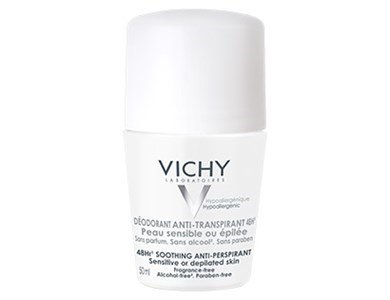 vichy antitranspirante 48h pele sensivel ou depilada