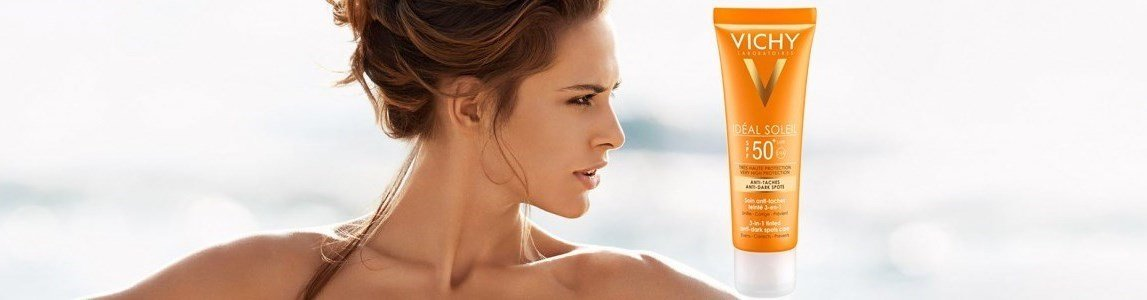vichy ideal soleil rosto 50 antimanchas