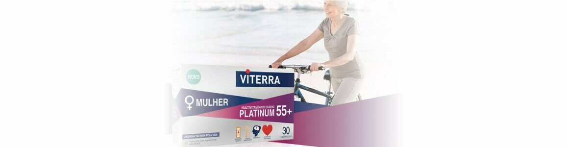 viterra mulher platinum 55 suplemento multivitaminico diario