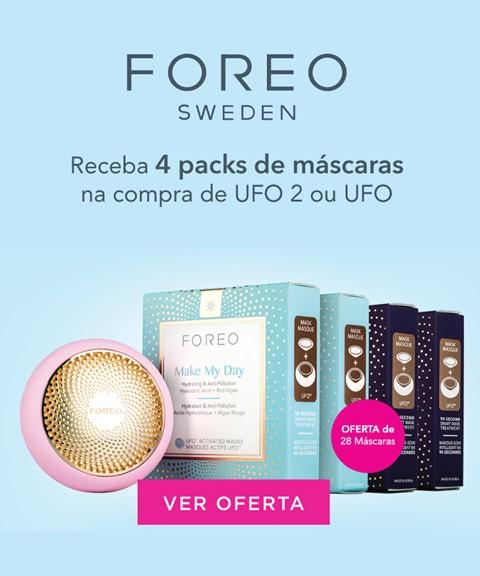 Foreo | oferta 4 packs de máscaras dia e noite