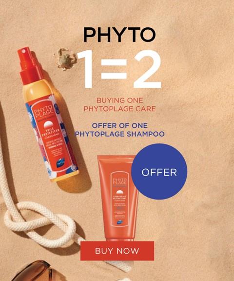 Phyto | 1=2 | offer phytoplage shampoo