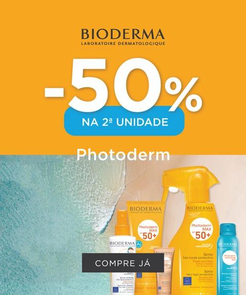 Bioderma | -50% na 2a unidade | solares