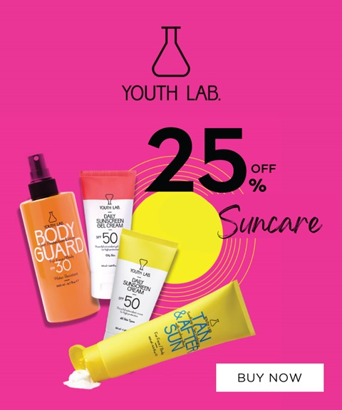 Youthlab | 25% off | suncare