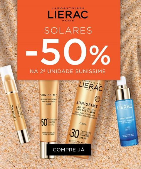 Lierac | -50% 2nd unidade | solares
