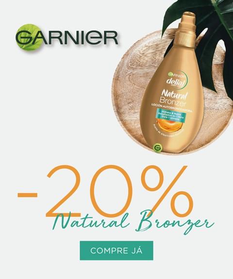Garnier | -20% | natural bronzer