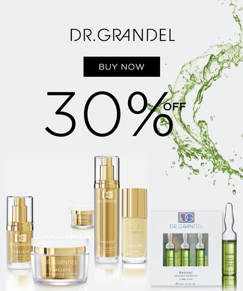 Dr. grandel | -30% | timeless & ampoules retinol