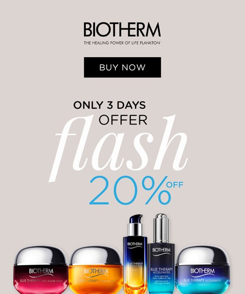Biotherm | 20% off | anti-aging